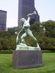UN_Swords_into_Plowshares_Statue